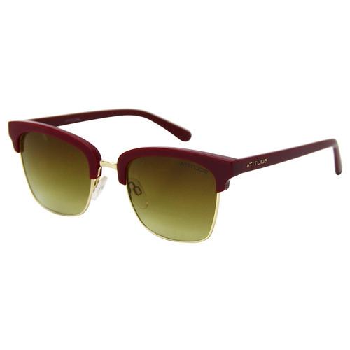 Óculos De Sol Feminino Atitude At3175 Original - R  179,00 em ... 867ef2fcd6