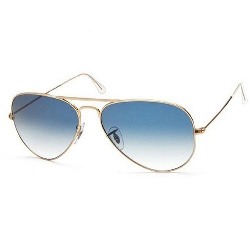 Óculos De Sol Feminino Aviador Blogueiras Redondo Azul Rosa - R  49 ... e4cc3dc388