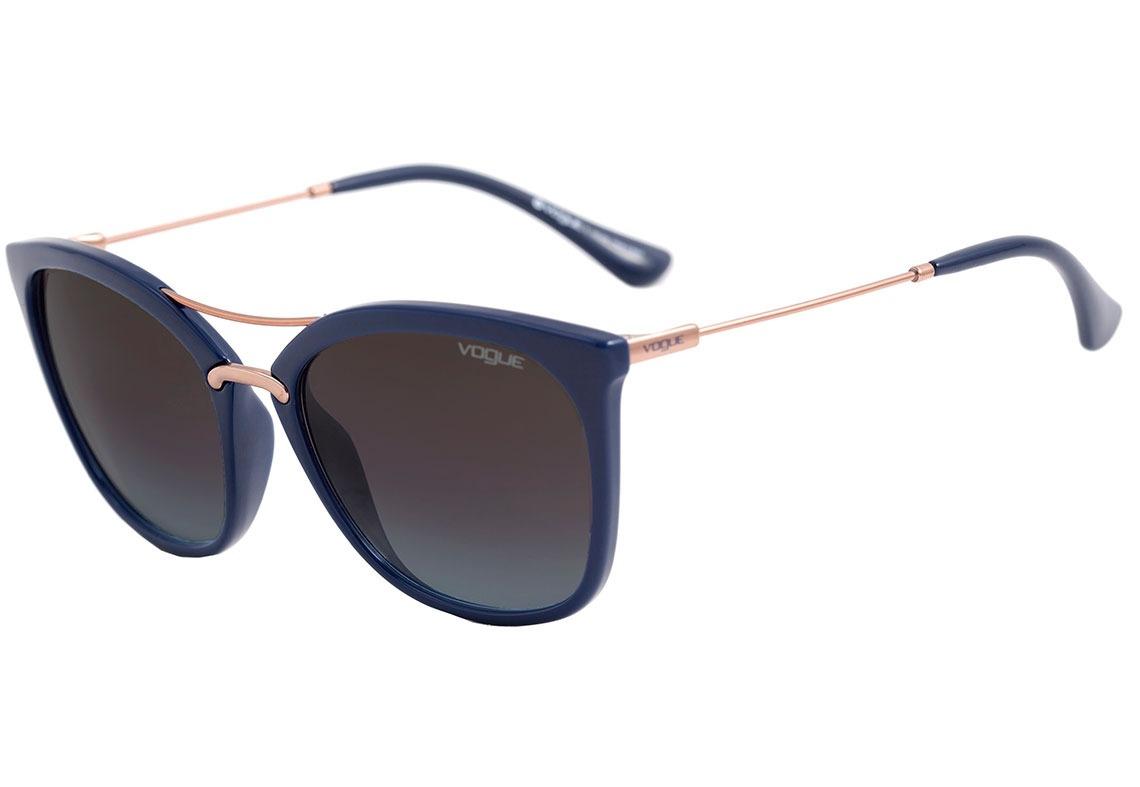 óculos de sol feminino azul - vogue vo 5157 - original. Carregando zoom. 56cc8a0ab2