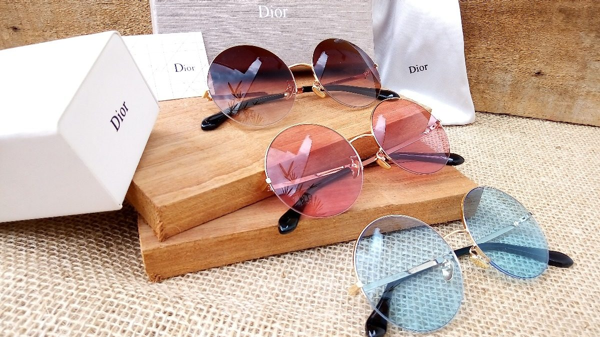 04cc38b0b15af oculos de sol feminino barato round redondo luxo grife rosa. Carregando  zoom.