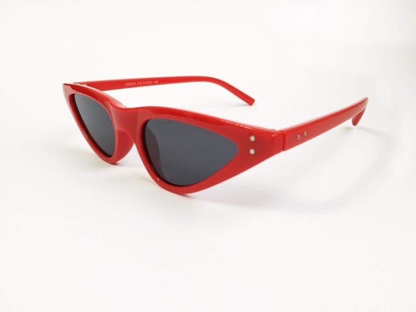 Oculos De Sol Feminino Barato Vermelho Gatinho Retrô - R  39,90 em ... 7565b94f8f