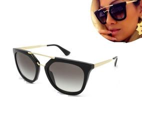 b94195e8b Oculos De Sol Grande Preto no Mercado Livre Brasil