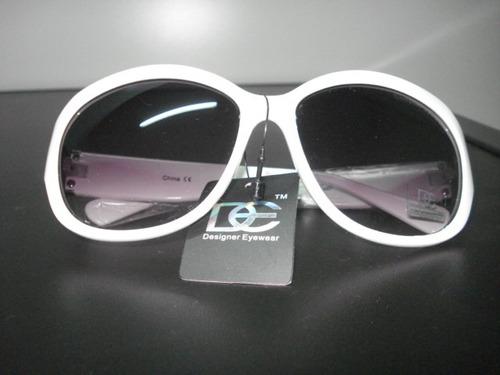 óculos de sol - feminino - branco - designer importado dg