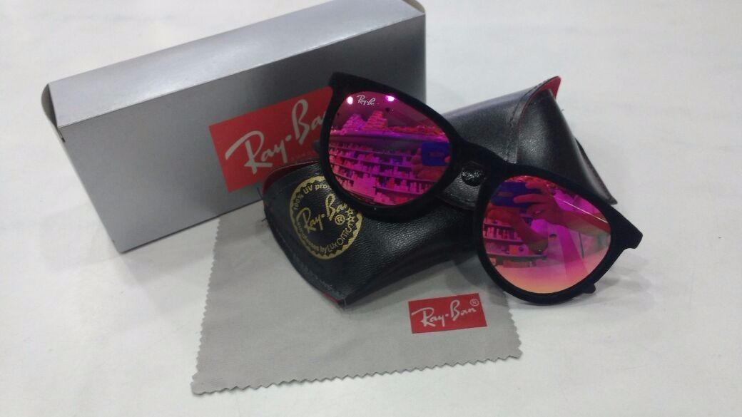 e78e2f861 Óculos De Sol Feminino Camurça Espelhado Rosa+caix+case+flan - R$ 29 ...