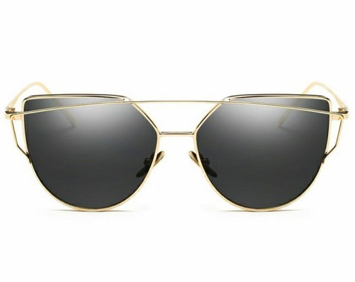 Óculos De Sol Feminino Cat Eyes Olho De Gato Preto - R  69,99 em ... d0e83ea2bd