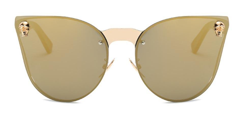 60f6cdd5969cb óculos de sol feminino caveira skull cristal gatinho luxo. Carregando zoom.