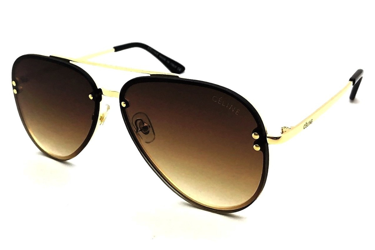 3bfdad9492b7d oculos de sol feminino céline aviador lançamento premium. Carregando zoom.