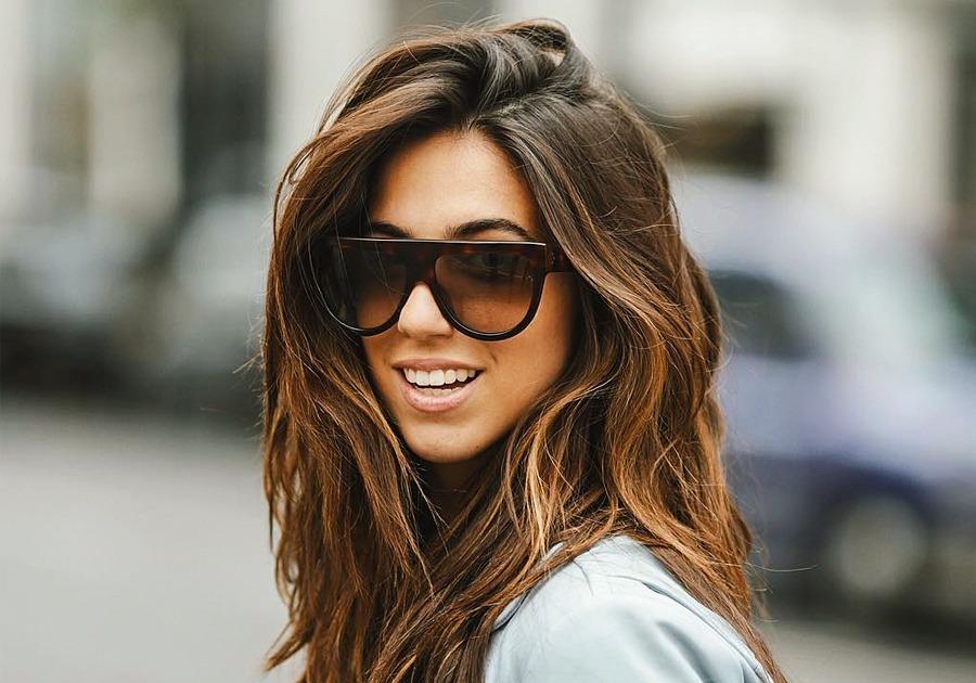 Óculos De Sol Feminino Celine Shadow - R  65,90 em Mercado Livre 372c078568