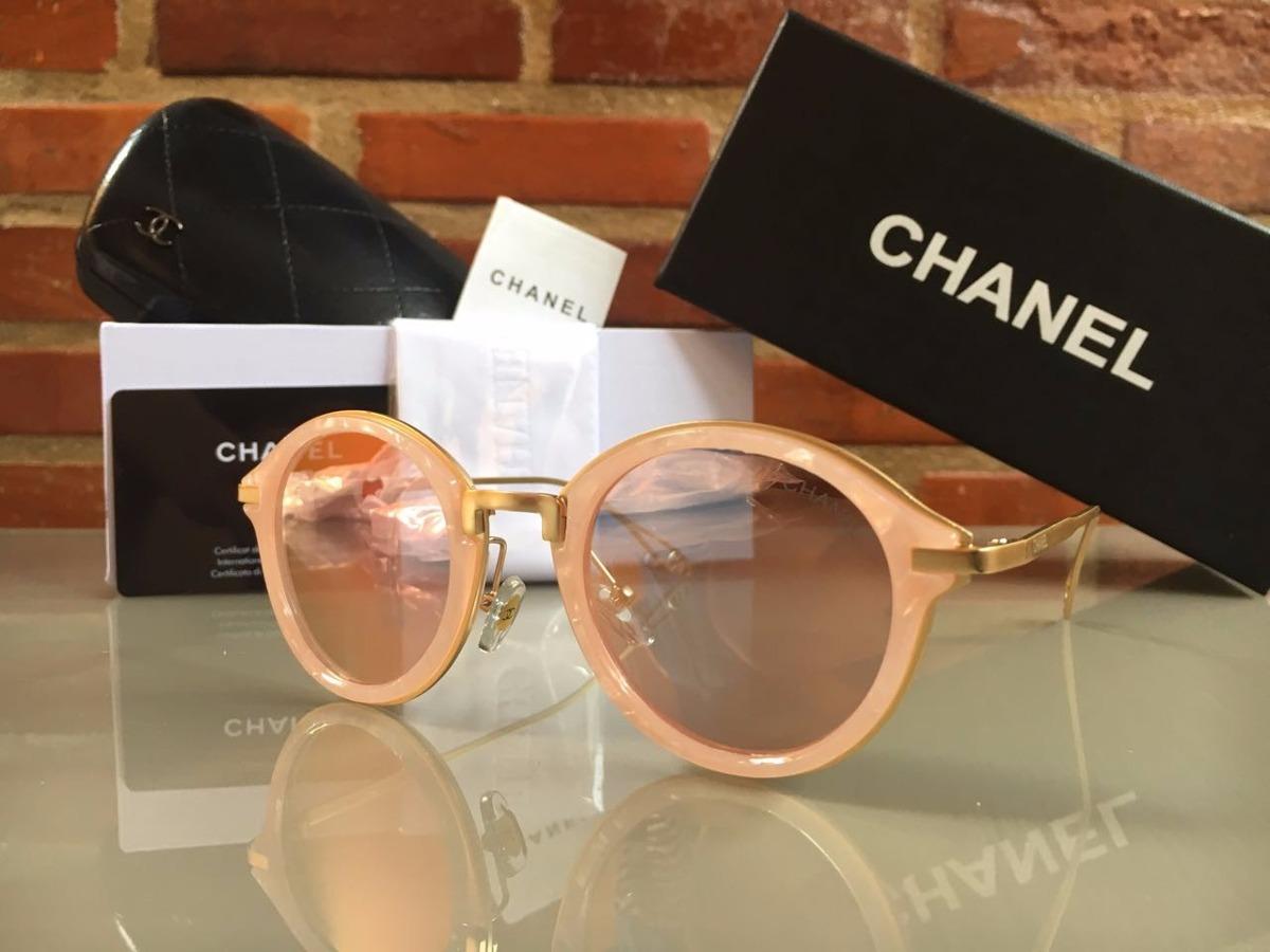 oculos de sol feminino chanel original redondo frete grátis. Carregando  zoom. 1bccc1cfe3