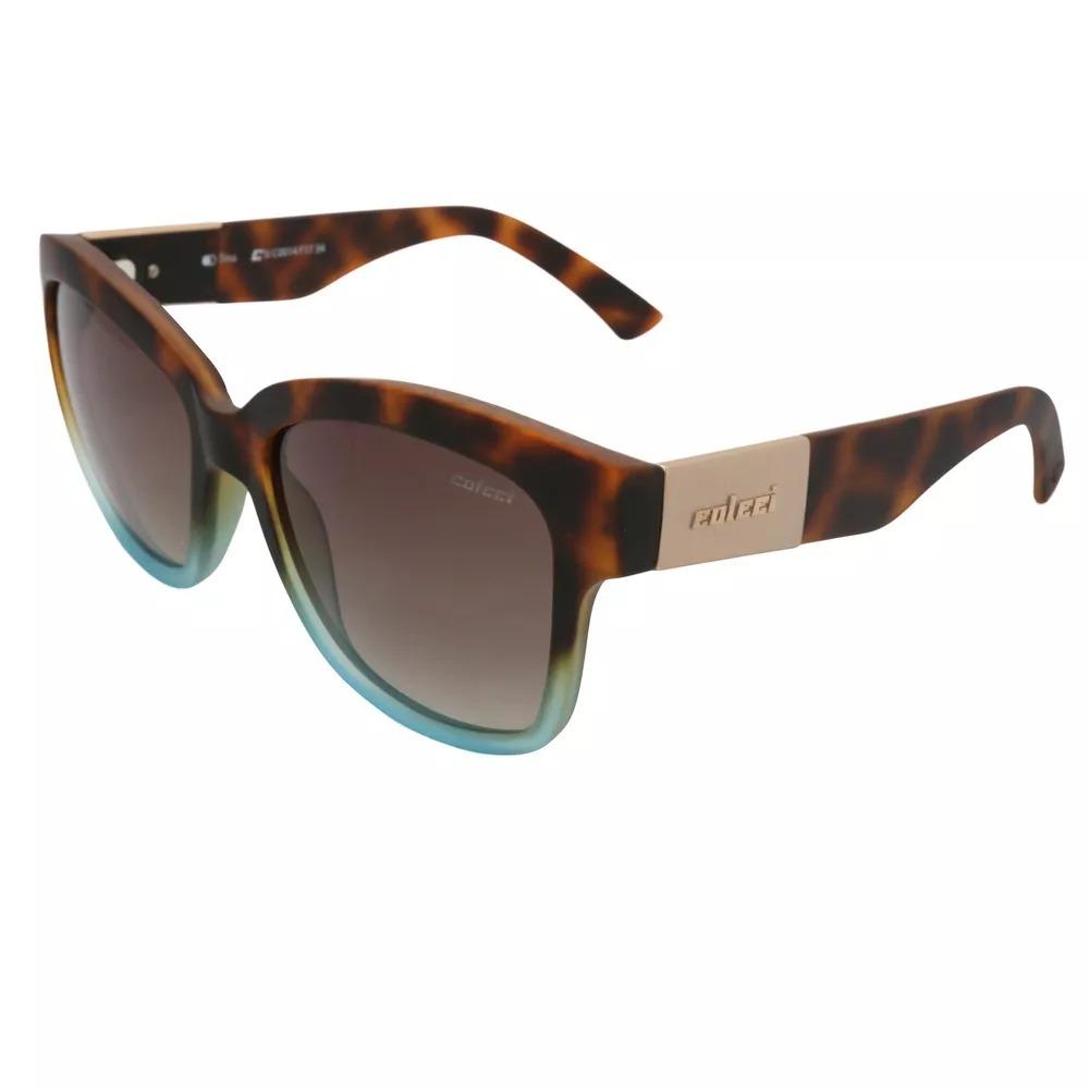 dbb8ef9bed85a Óculos De Sol Feminino Colcci Tina -c0014 F17 34 - R  140