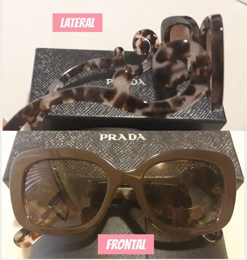 cf49703adfed4 Óculos De Sol Feminino Da Prada - Original Com Nota Fiscal - R  950 ...