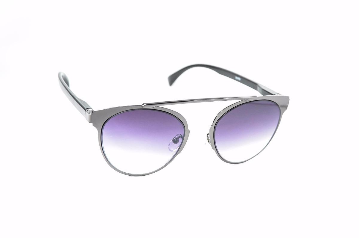 0d52868f75da2 óculos de sol feminino diferente lente degrade redondo. Carregando zoom.