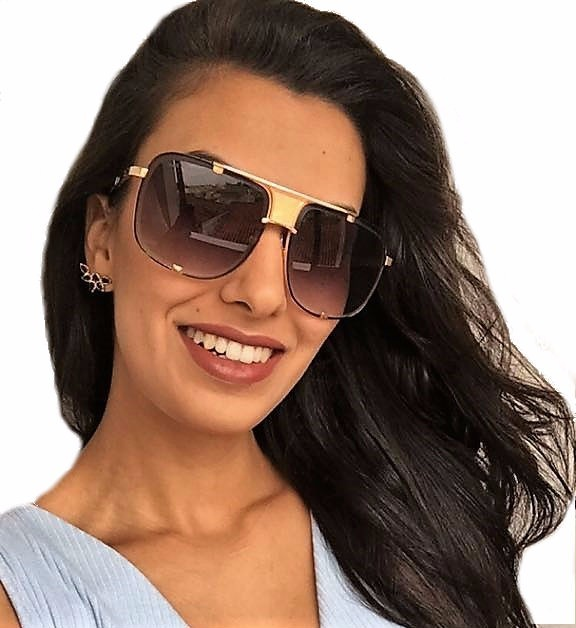 8839b27423673 Oculos De Sol Feminino Dita Mach Five Degradê Premium - R  100