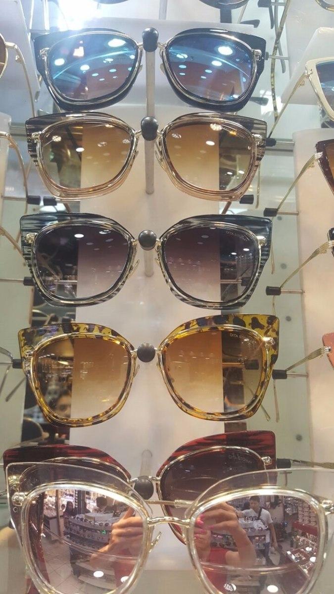 fc60a741bcb8a Óculos De Sol Feminino Dita Stormy - Pronta Entrega - R  79