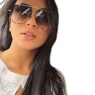 b9446a4fc52a7 Oculos De Sol Feminino Dita Talon Premium Uv400 Degradê - R  100