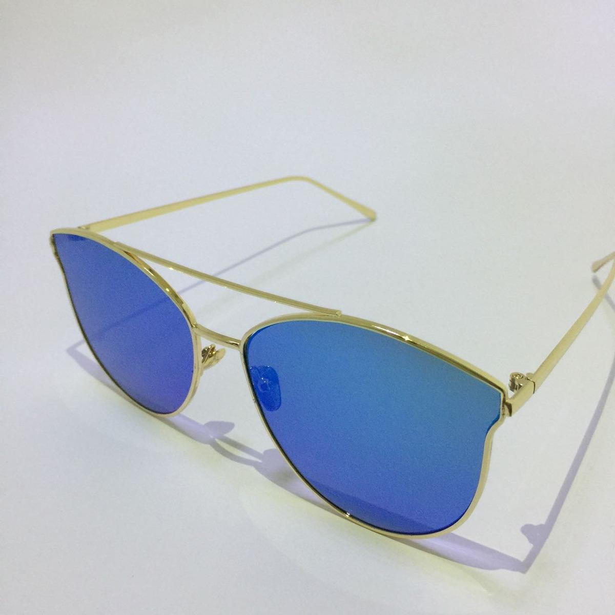 292a235288475 óculos de sol feminino espelhado azul niterói 2.0. Carregando zoom.