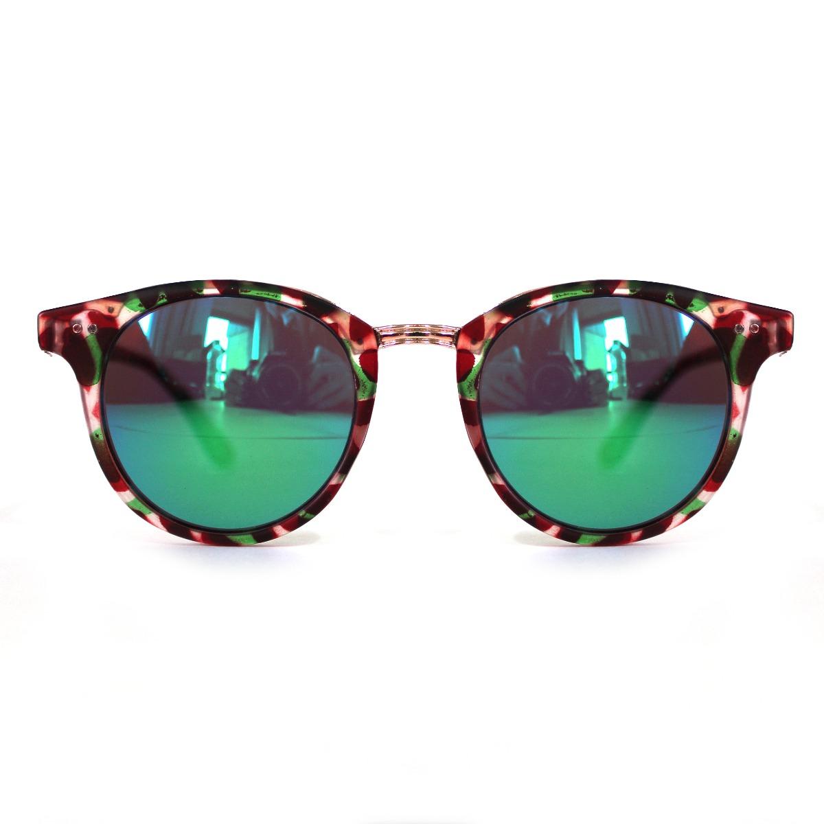 f2b656c6251b1 óculos de sol feminino espelhado colorido vermelho e verde. Carregando zoom.