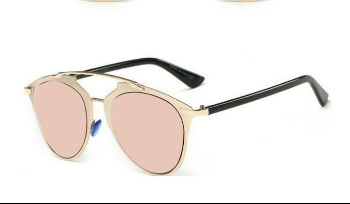 433a1e647 Óculos De Sol Feminino Espelhado Gatinho Uv400 - R$ 49,90 em Mercado ...