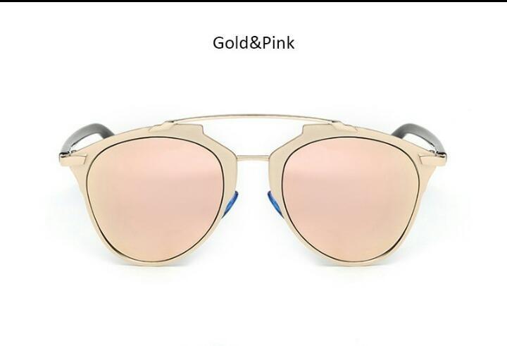 741eea9262480 Óculos De Sol Feminino Espelhado Gatinho Uv400 - R  54