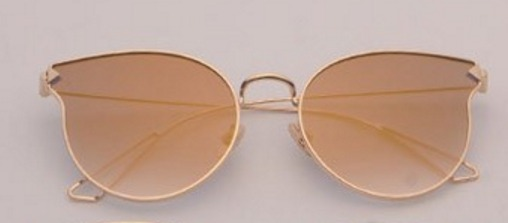 fa1b7a113 Óculos De Sol Feminino Espelhado Gato Gatinho Oval Redondo - R$ 69 ...