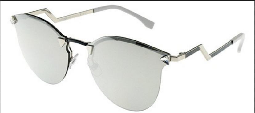 abb1264590f3f óculos de sol feminino espelhado iridia prata gatinho. Carregando zoom.
