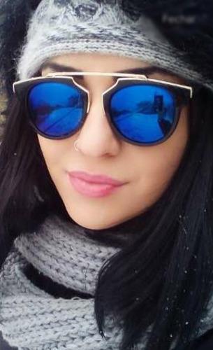 68eb01d43 Óculos De Sol Feminino Espelhado Moda Blogueira Uva - R$ 38,90 em ...