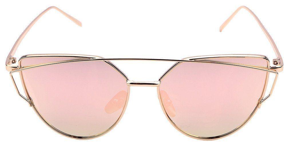 óculos de sol feminino espelhado olho de gato gatinho barato. Carregando  zoom. 4ee5e140df