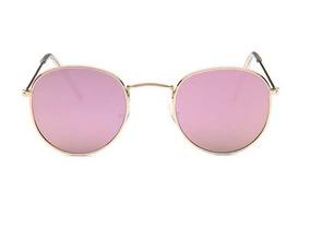 0b8cadddb Oculos Redondo Espelhado Rosa - Óculos no Mercado Livre Brasil