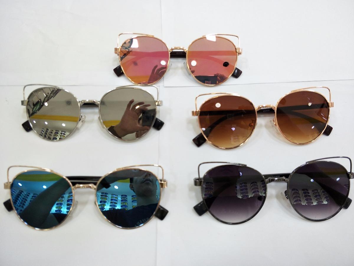 bad6c1679 Óculos De Sol Feminino Estilo Gatinho - R$ 39,90 em Mercado Livre