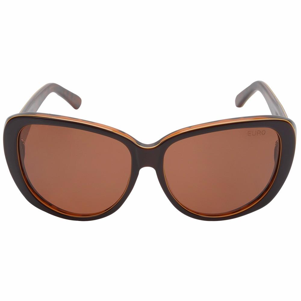 Óculos De Sol Feminino Euro Oc078eu 3m - R  299,03 em Mercado Livre f5a09fa1db