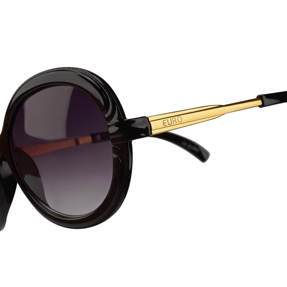 Oculos De Sol Feminino Euro Oc080eu 8p - Marrom - R  139,90 em ... 540b20c5a6