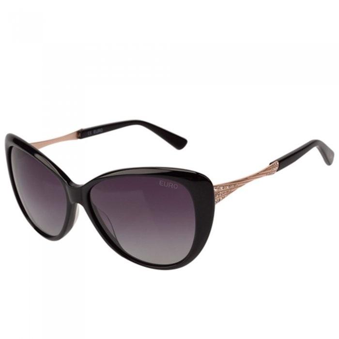Óculos De Sol Feminino Euro Oc102eu 8p - R  249,02 em Mercado Livre e39c7c45be