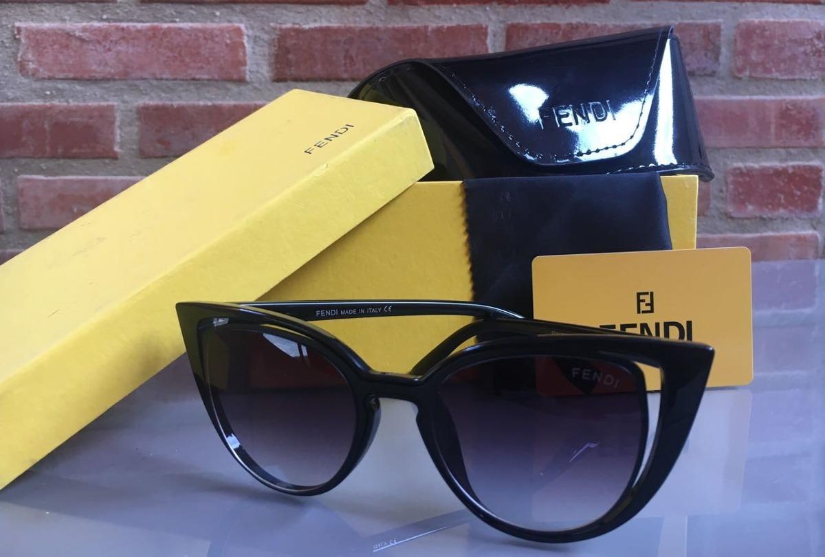 a053cf86a0bef oculos de sol feminino fendi original gatinho frete grat. Carregando zoom.