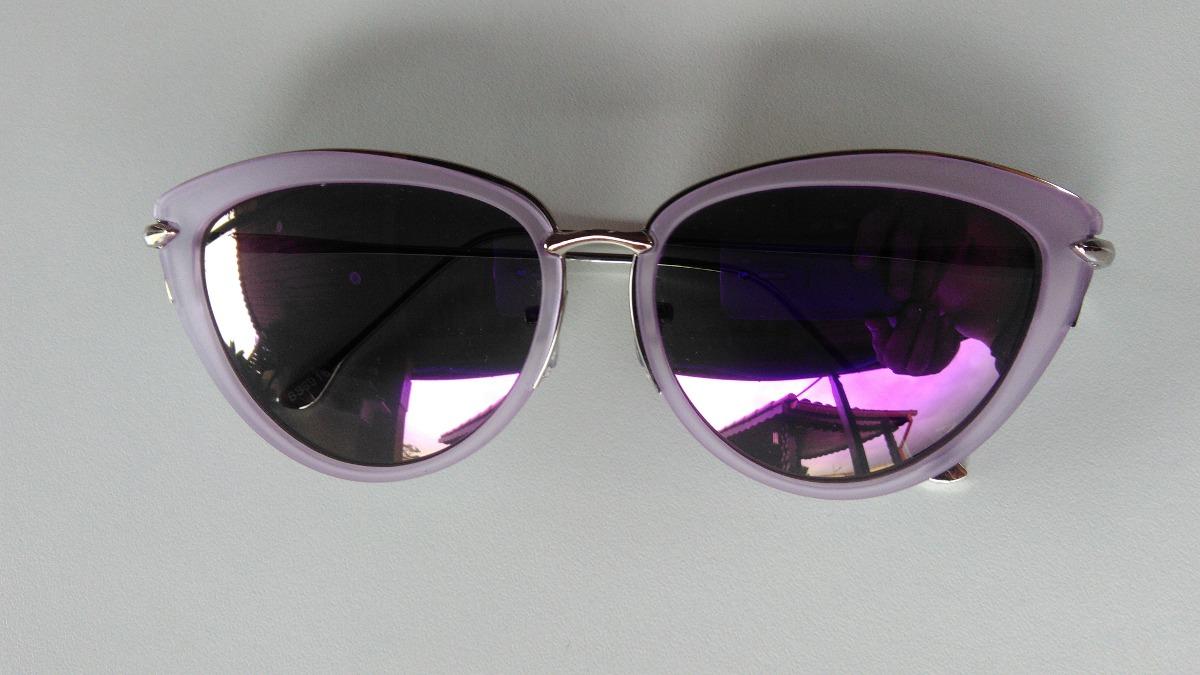 5fceddb646def óculos de sol feminino gatinho espelhado com proteção uv400. Carregando  zoom.