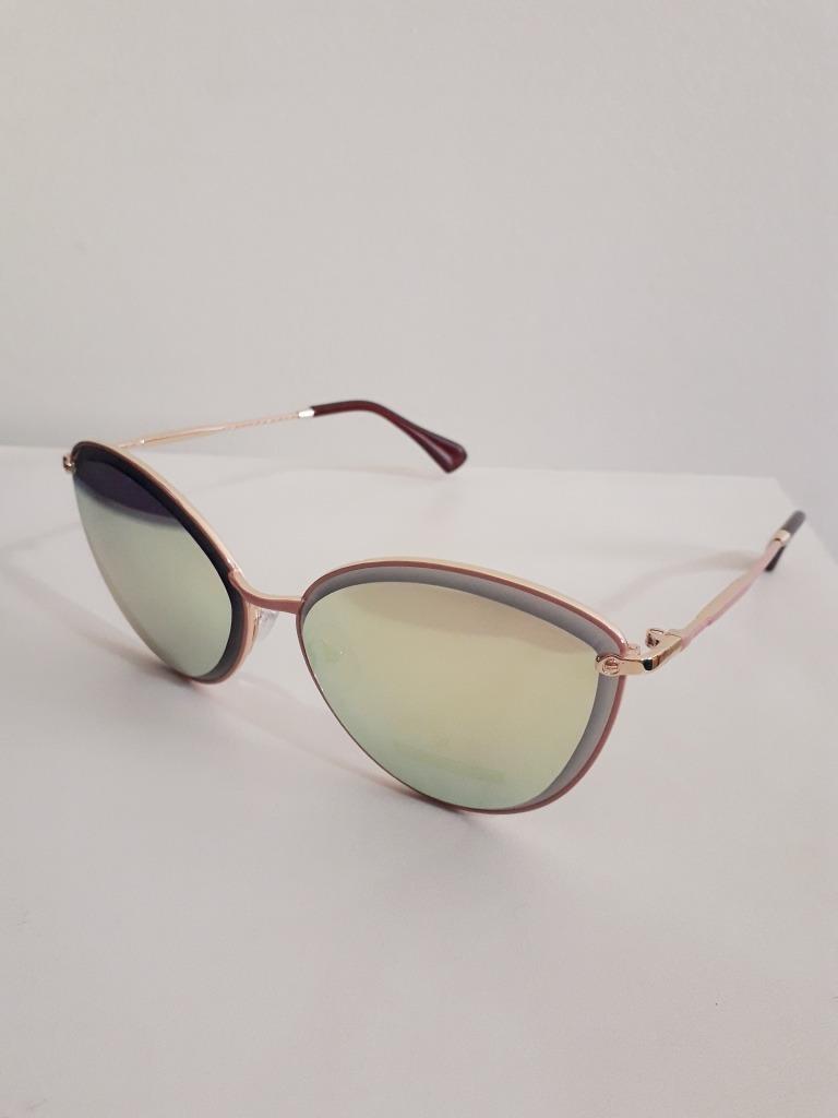 7aa456234 Óculos De Sol Feminino Gatinho Espelhado Rosa - R$ 44,90 em Mercado ...