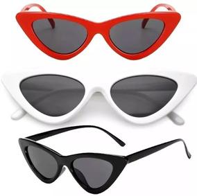 71f46a5eb Oculo Gatinho Vintage - Óculos no Mercado Livre Brasil
