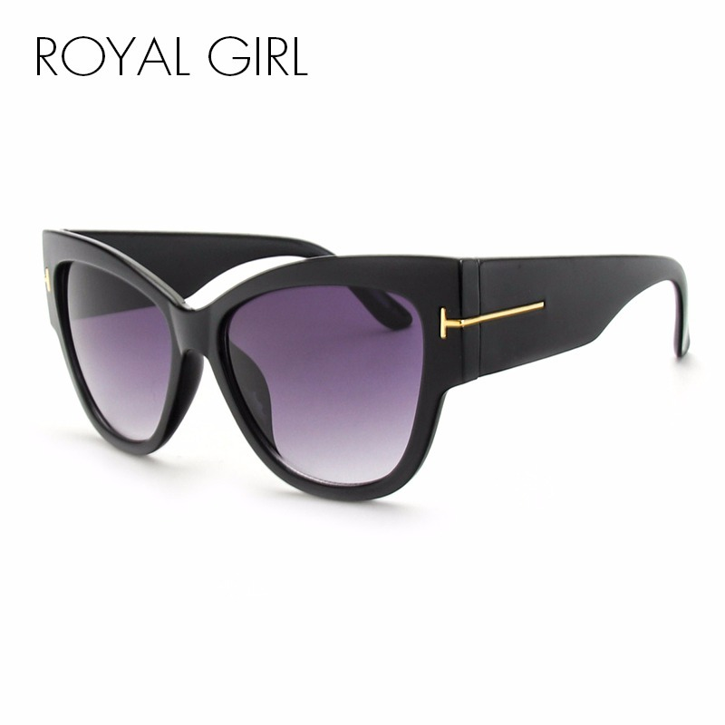 óculos de sol feminino gatinho grande degradê luxo - barato. Carregando  zoom. 7dcd0e64a9