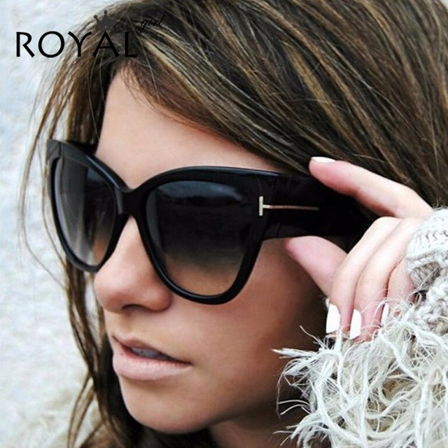Óculos De Sol Feminino Gatinho Grande Degradê Luxo - Barato - R  120 ... ee7102fa48