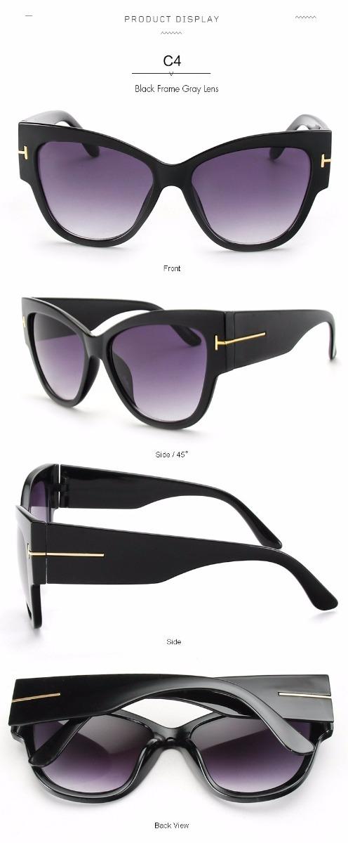 a96b2241d1452 óculos de sol feminino gatinho grande degradê luxo - barato. Carregando  zoom.