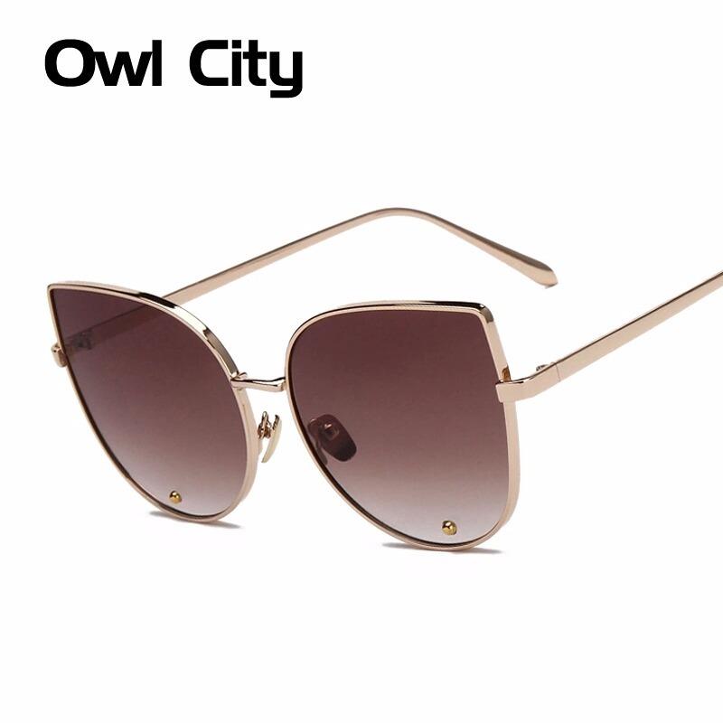 41fe0dc6f óculos de sol feminino gatinho modelo grande top + frete. Carregando zoom.