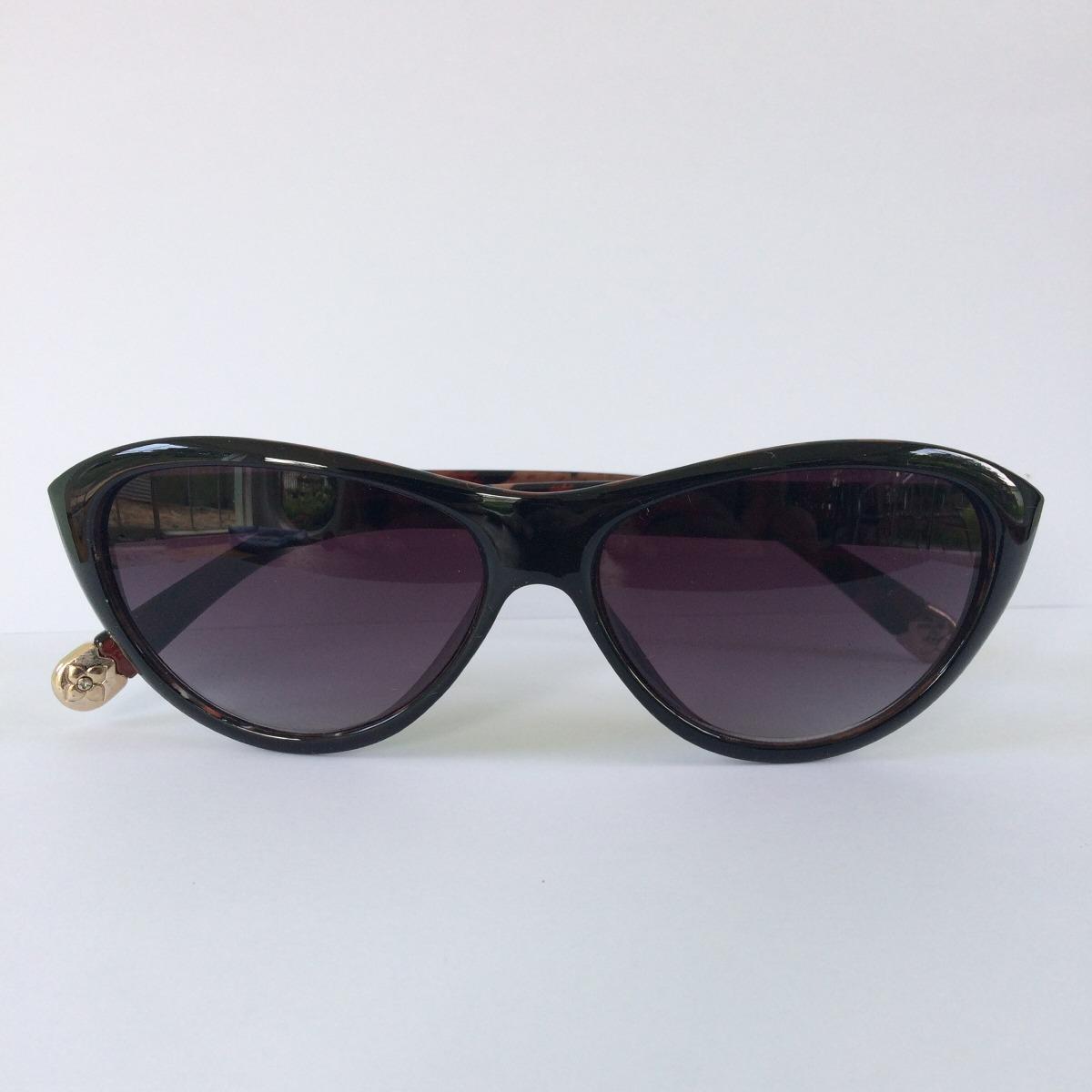 Óculos De Sol Feminino Gatinho Oncinha Proteção Uv 400 - R  15,00 em ... 8ebc6b3095