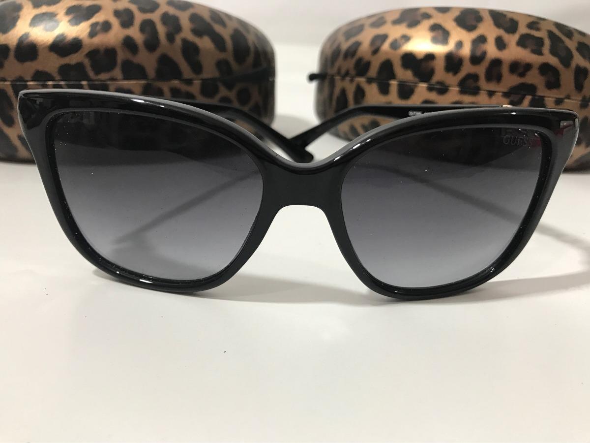 fe8d449b9cdf4 Óculos De Sol Feminino Gatinho Original Guess + Frete Gratis - R ...