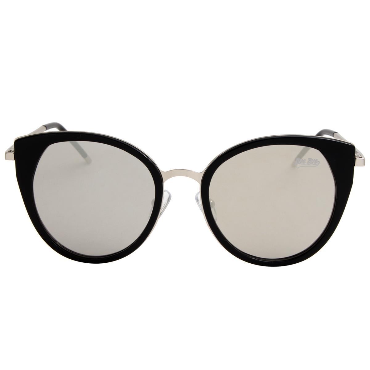 Óculos De Sol Feminino Gatinho Preto Espelhado - R  149,90 em ... 71625ffd39