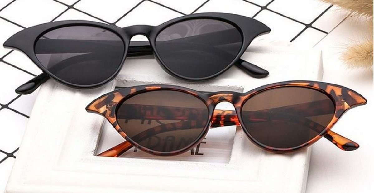 2a31ff705 óculos de sol feminino gatinho retrô proteção uv400 vintage. Carregando zoom .