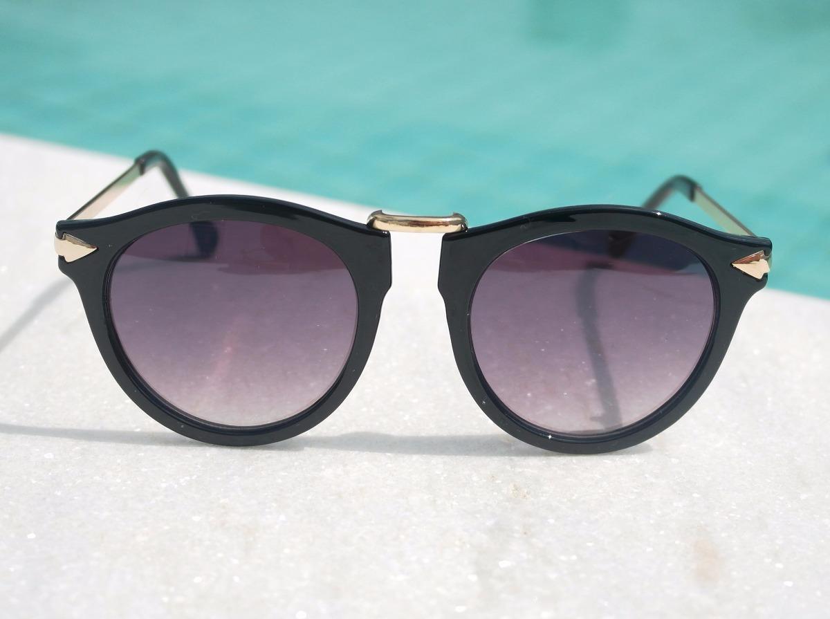 a2b022fea9c60 óculos de sol feminino gatinho vintage preto importado luxo. Carregando  zoom.