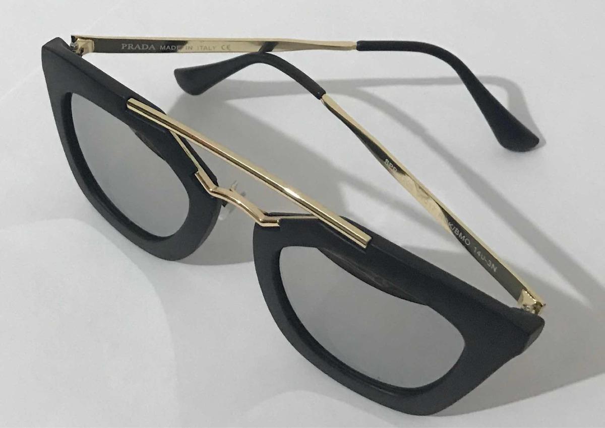 22664696b Óculos De Sol Feminino Geometric Prada Premium Cinema - R$ 69,00 em ...