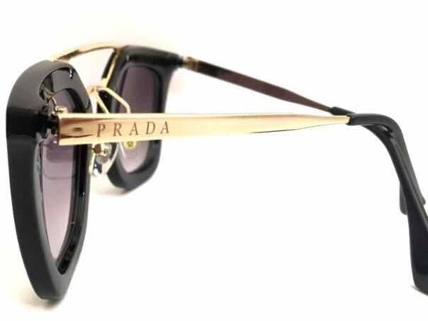 c6c54a5b475d0 Óculos De Sol Feminino Geometric Prada Premium Cinema - R  69,00 em ...