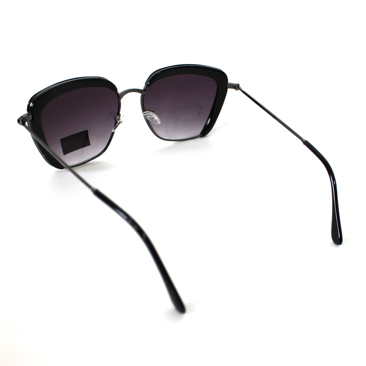 7fbeb76eb27b9 óculos de sol feminino grande preto quadrado recortes moda. Carregando zoom.