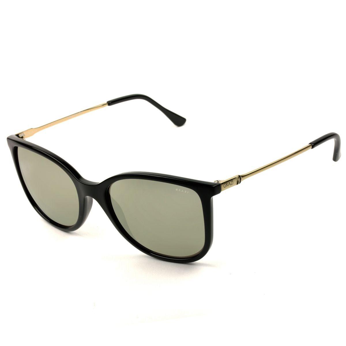 Óculos De Sol Feminino Grazi Massafera Gz4020 E825 - R  239,00 em ... 8fe321ad65