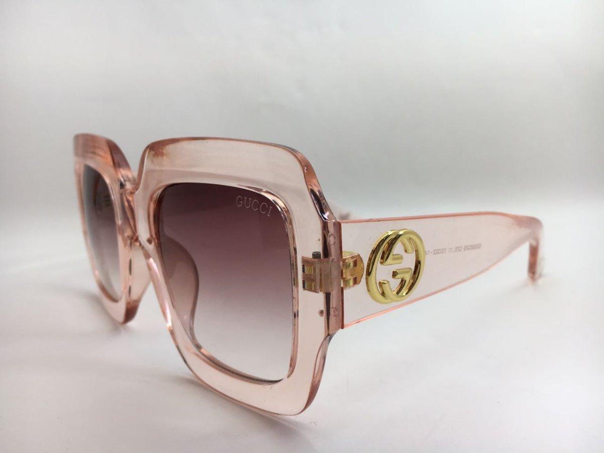 Oculos De Sol Feminino Gucci Original Grande Frete Grátis - R  1.000 ... 3b2cf643f2